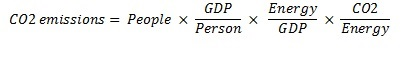 Kaya formula