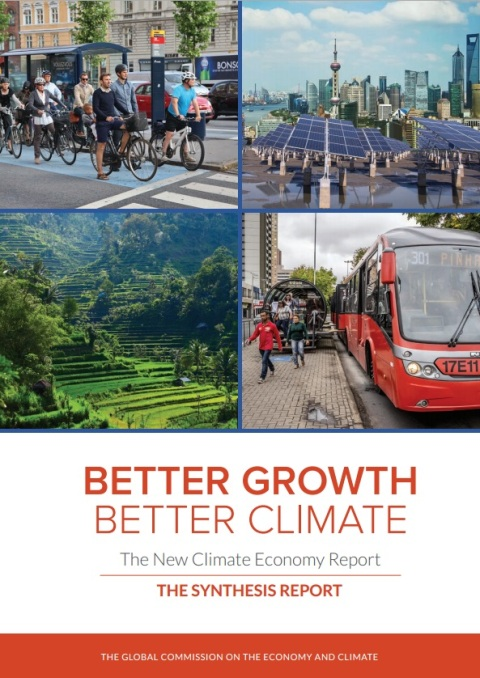 New Climate Economy Report Cover