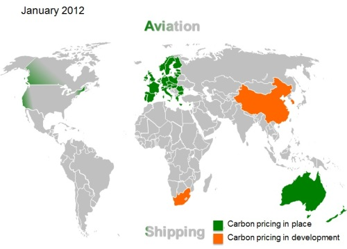 Carbon pricing 2012