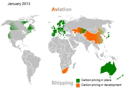 Carbon pricing 2013