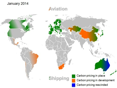 Carbon pricing 2014