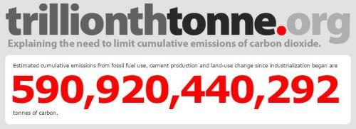 Trillionth Tonne