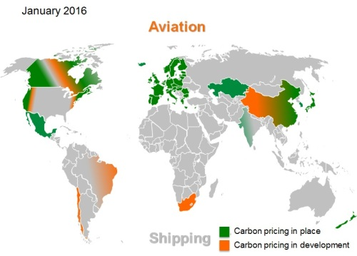 Carbon pricing 2016