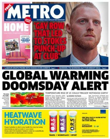 Global Warming Alert (Metro)