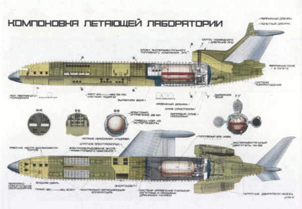 TU-155-Liquid-Hydrogen-Aircraft-Design-Tupolev-2009